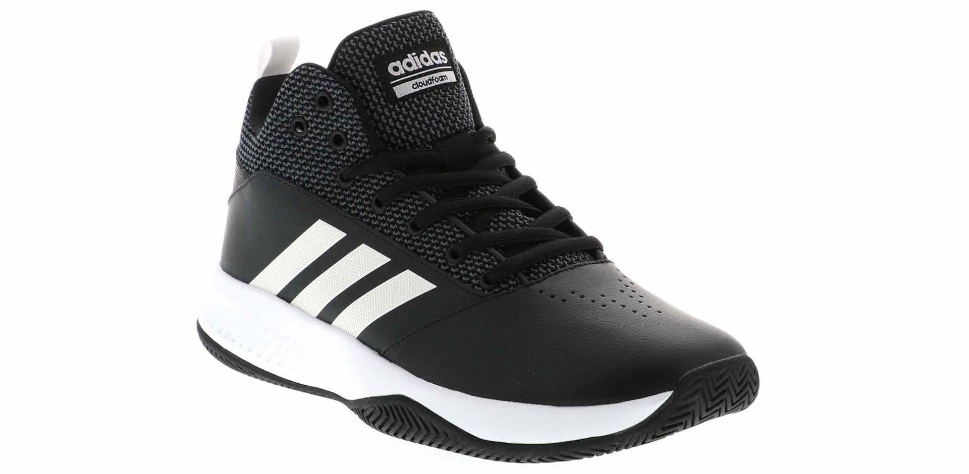 Adidas Cloudfoam Ilation Mid Herren Schwarz Basketball