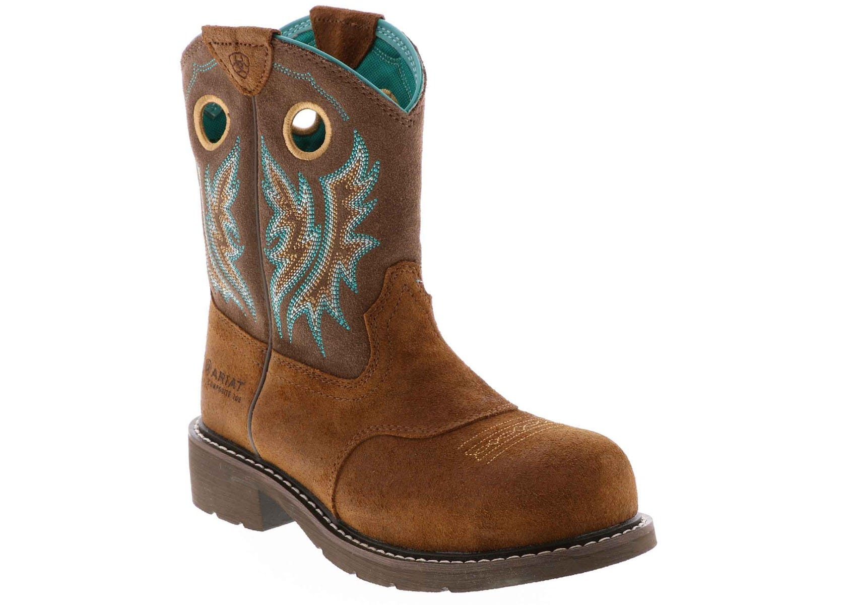 d2020d1423a Women's Ariat Fatbaby Cowgirl Comp Toe