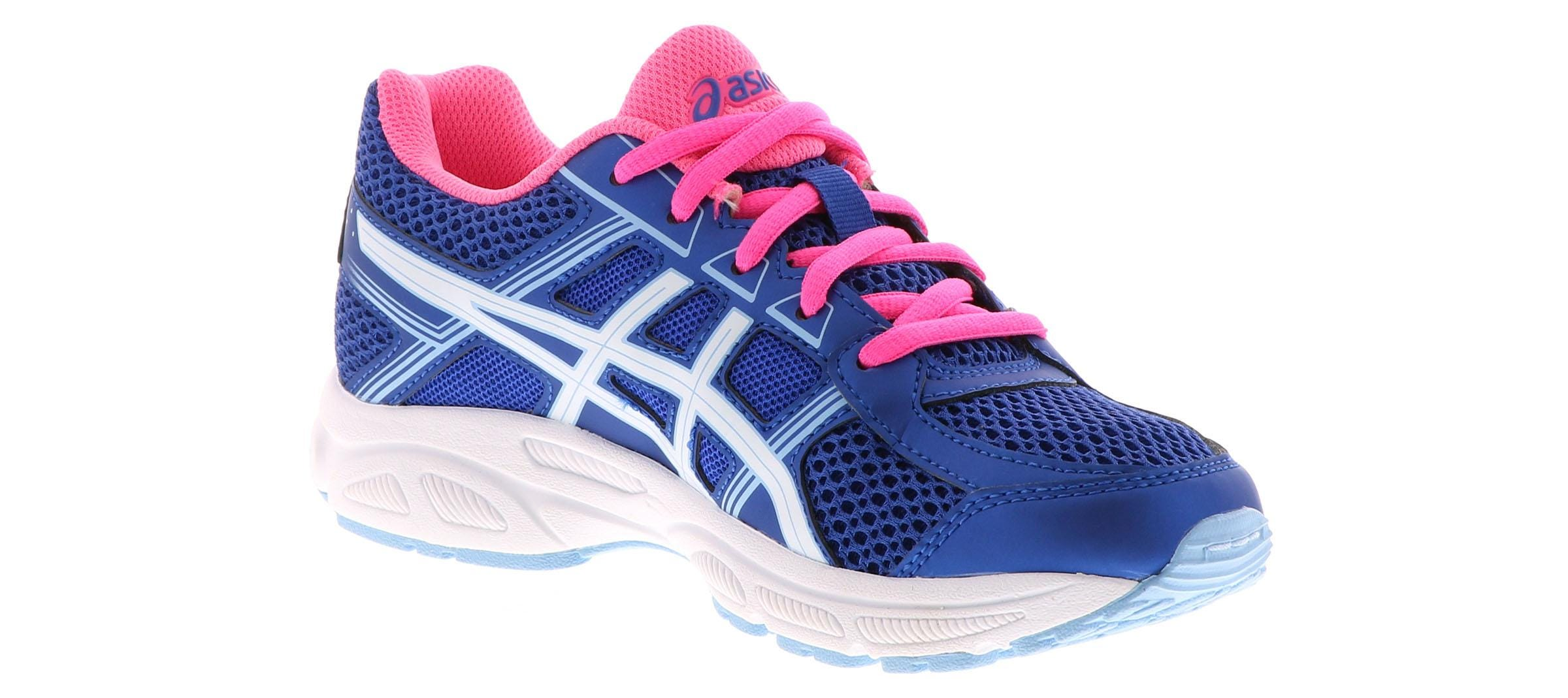 Kid's Asics Gel Contend 4 (1 6) Blue Shoe Sensation  Shoe Sensation