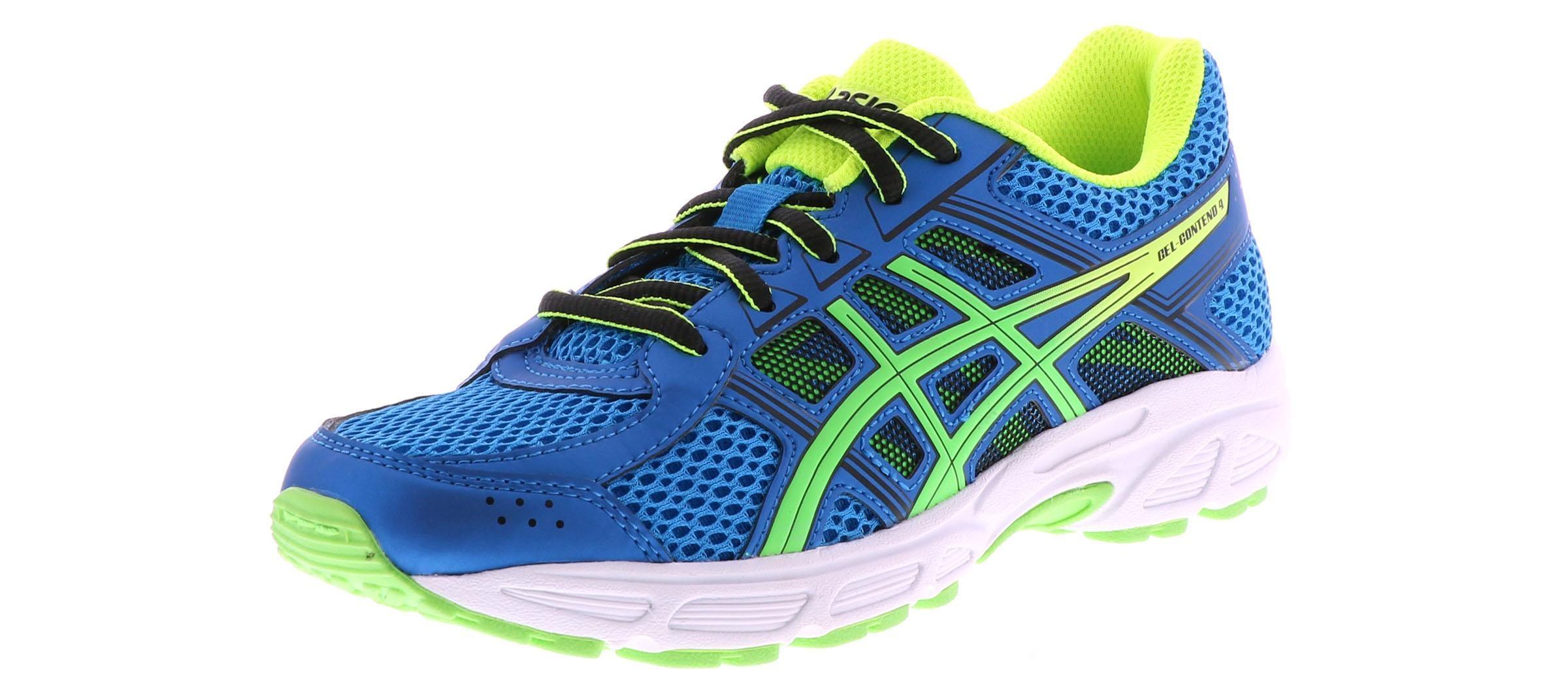 Kid's Asics Gel Contend 4 (2 7) Blue Shoe Sensation  Shoe Sensation