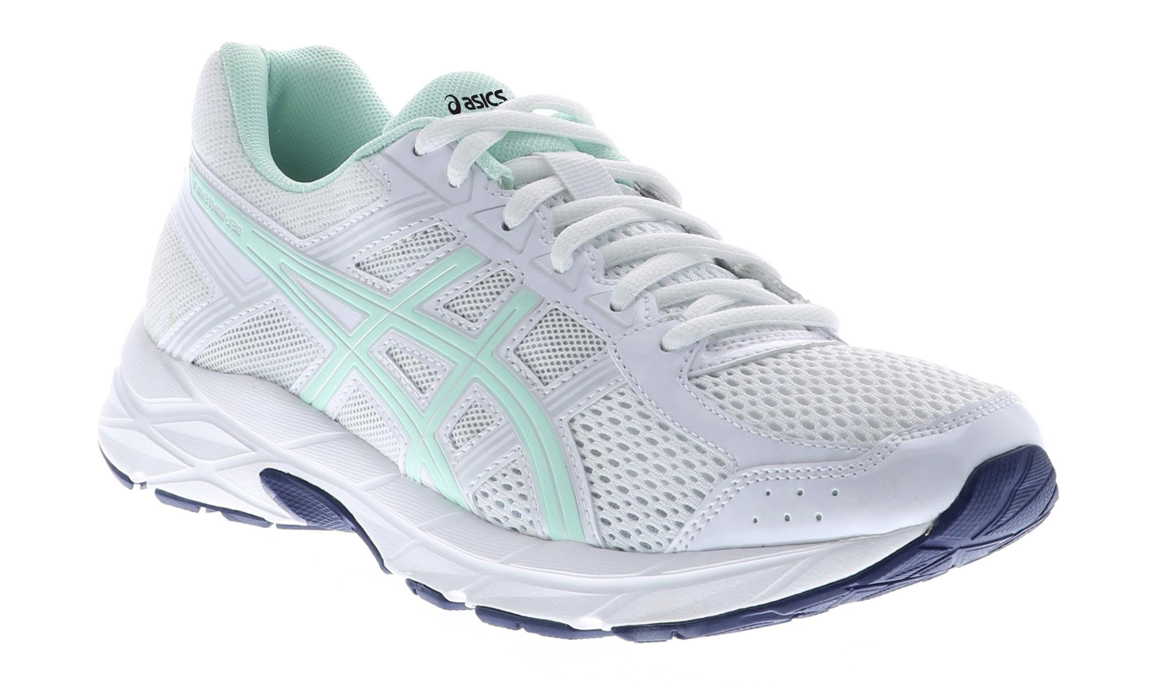 Asics Women's Gel Contend 4 White Shoe Sensation  Shoe Sensation