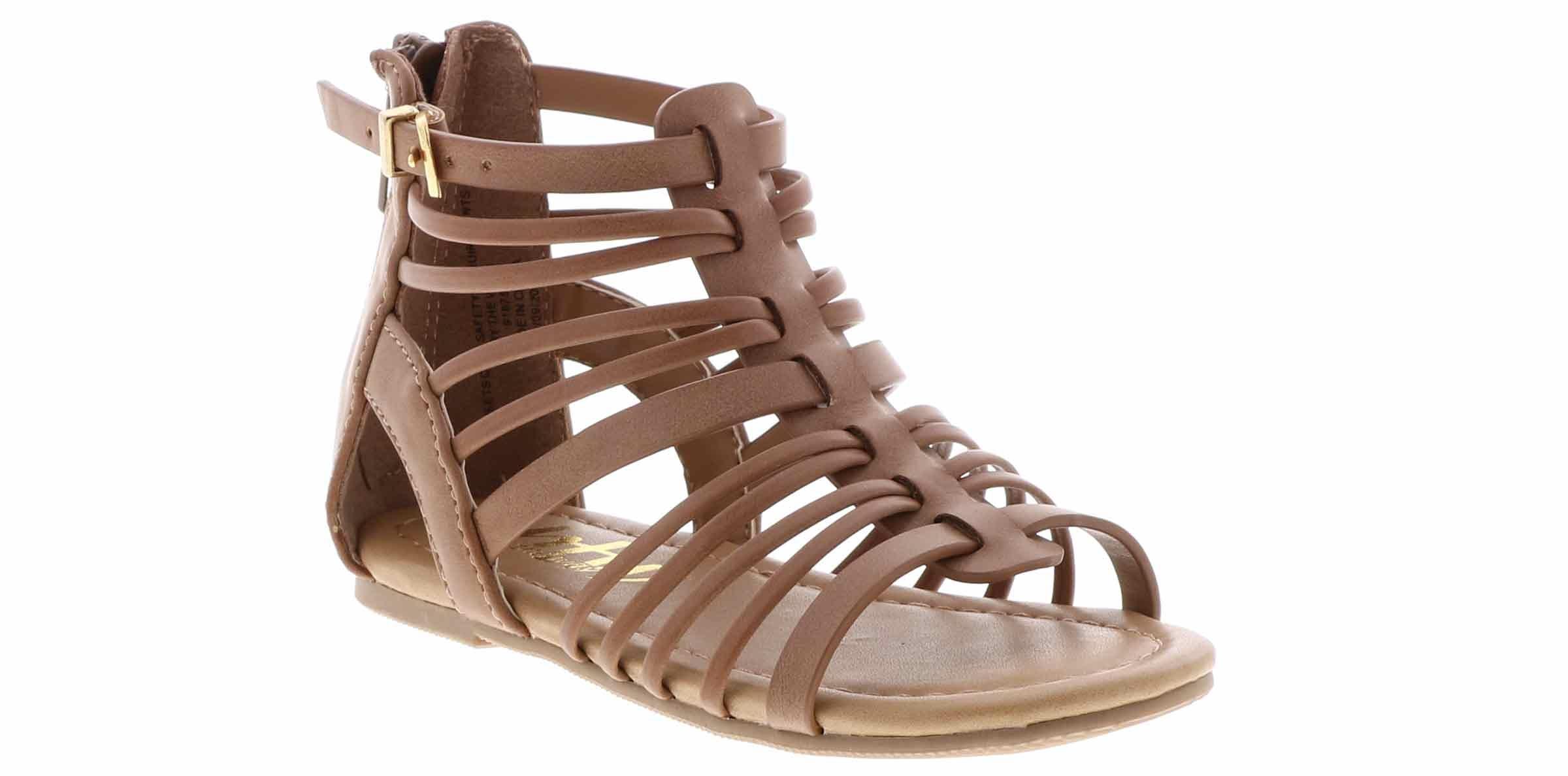 Toddler Girls Gladiator Flat Kid Sandals Shoes 5-10