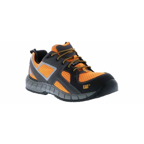 Caterpillar Men's Gain Steel Toe Wides Orange