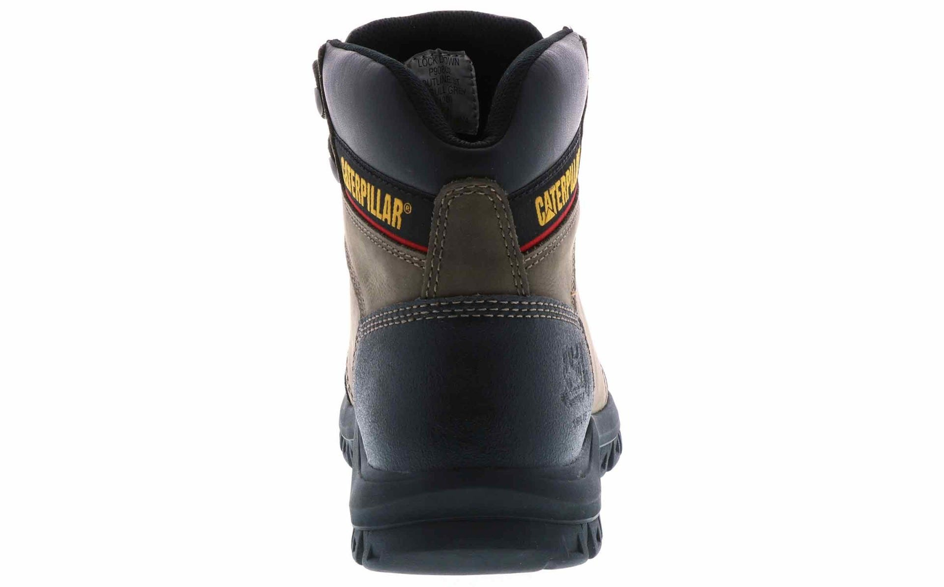 4a68c4b8965 Caterpillar Men's Outline Steel Toe Boot Wides Brown