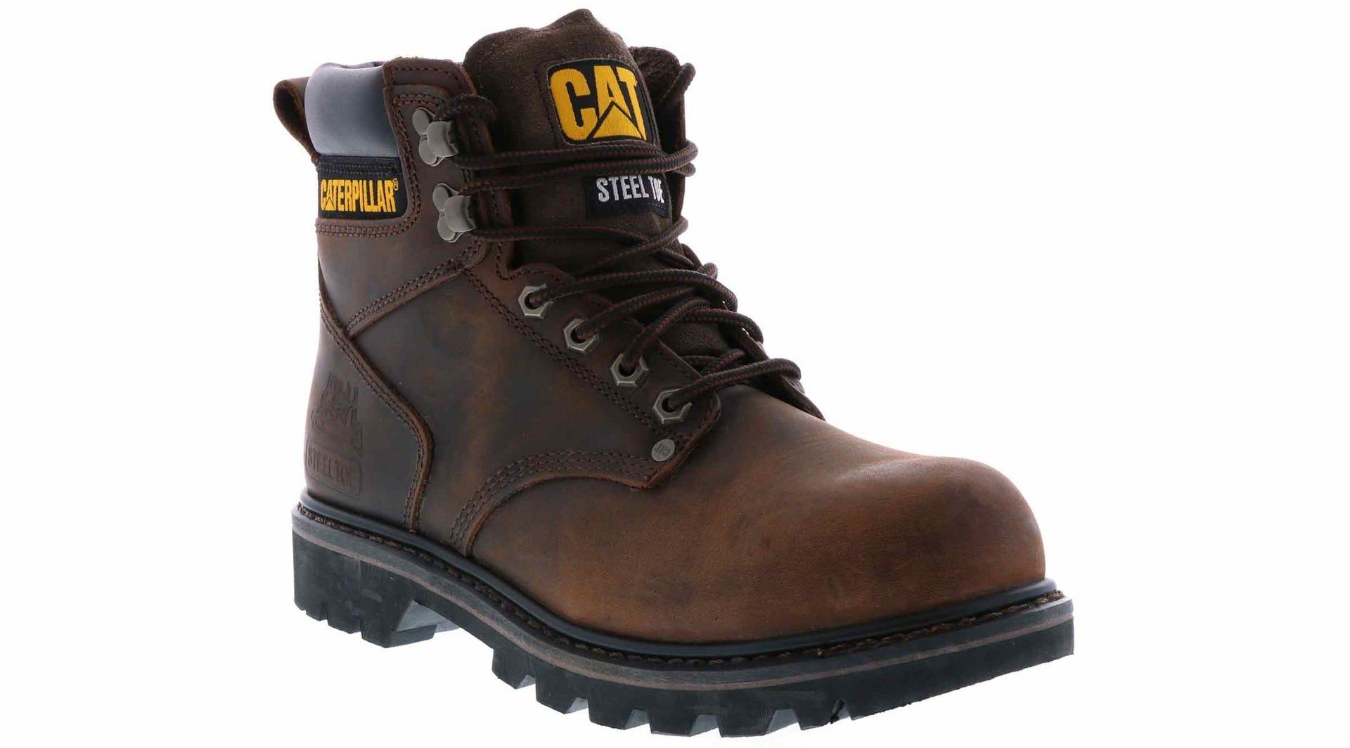 c53ea24bd25 Men's Caterpillar Second Shift Brown | Shoe Sensation