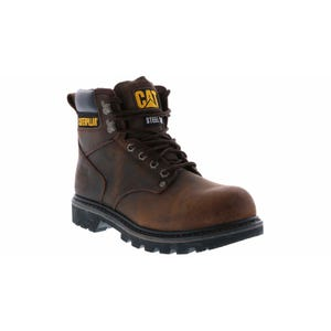 Caterpillar Men's Second Shift Steel Toe Brown