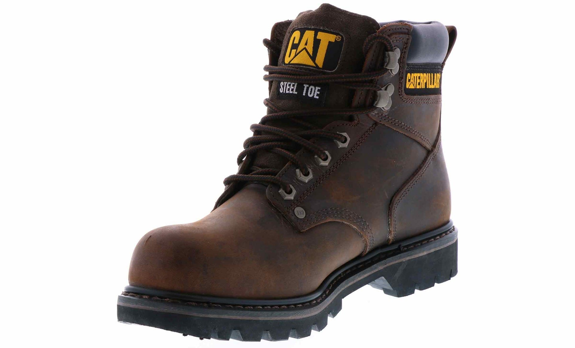 d521ff4209e Caterpillar Men's Second Shift Steel Toe Brown