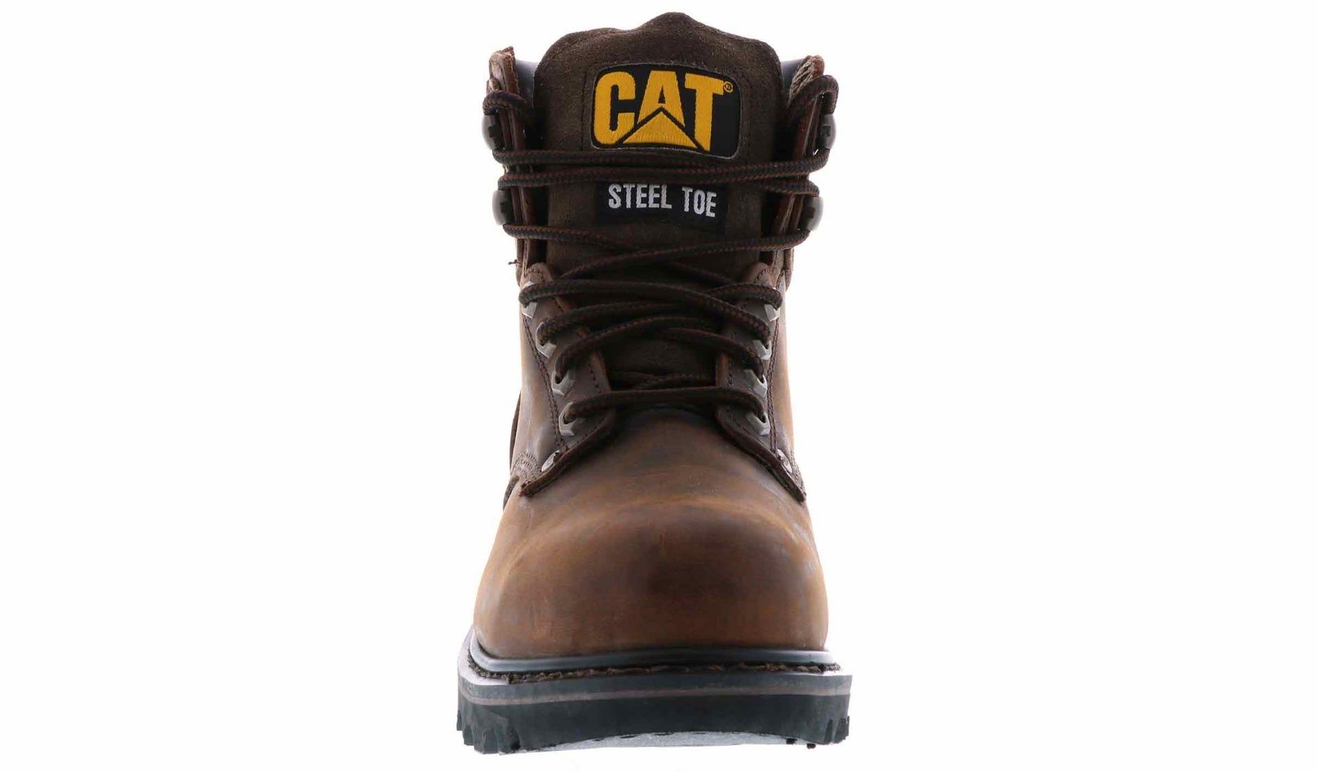 3e529da471d Caterpillar Men's Second Shift Steel Toe Brown