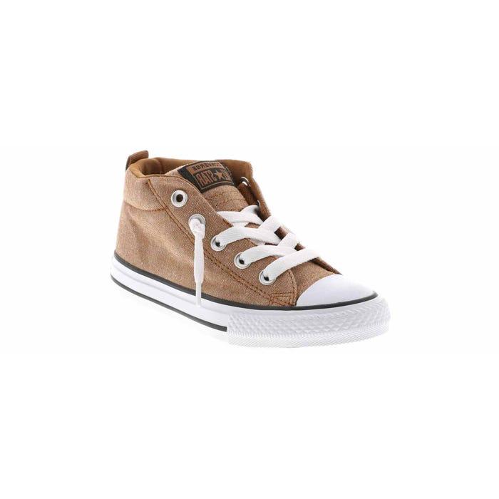 affär det senaste grossisthandlare Kid's Chuck Taylor All Star Street Mid Sneaker Brown | Shoe Sensation