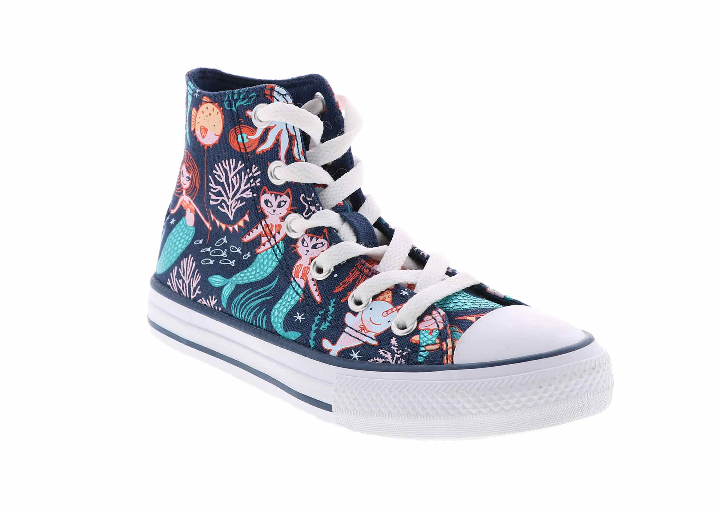 kid's converse chuck taylor all star mermaid hi top (12
