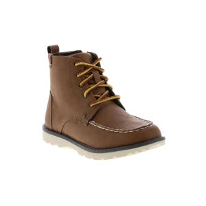 Crevo Kid's Buck Lace Boot (13-6) Tan