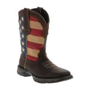 Durango Women's Flag Boot Brown