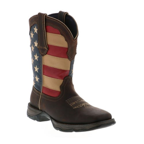 Durango Women's Flag Boot Brown
