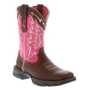 Durango Pink Ribbon Brown