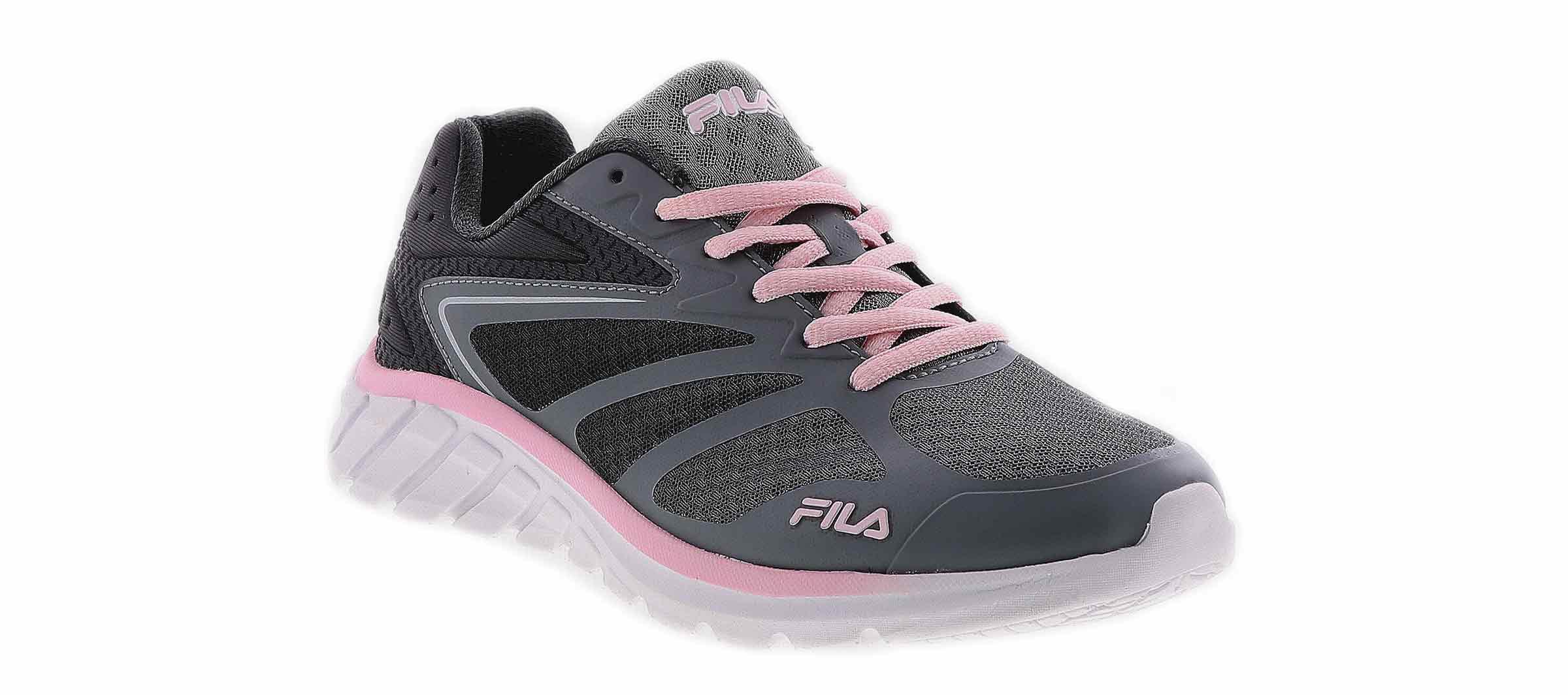 women's memory speedstride 4 grey pink