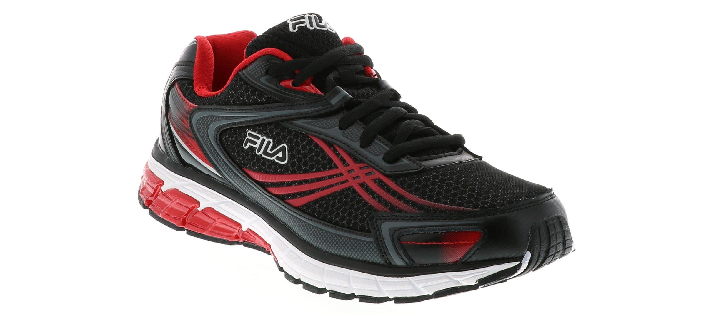 Men's Fila Nitro Fuel Energized 2 Black Shoe Sensation  Shoe Sensation
