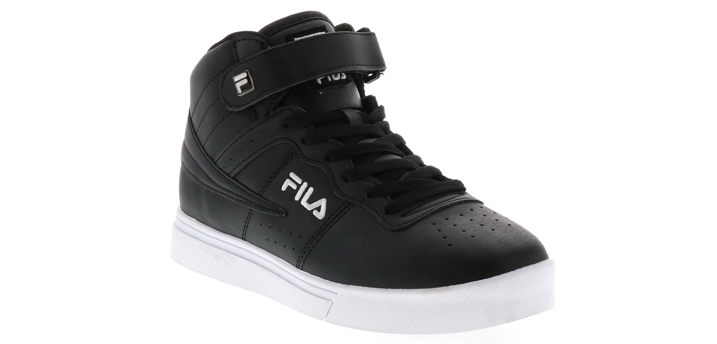 Men's Fila Vulc 13 Mid Plus Black Shoe Sensation  Shoe Sensation