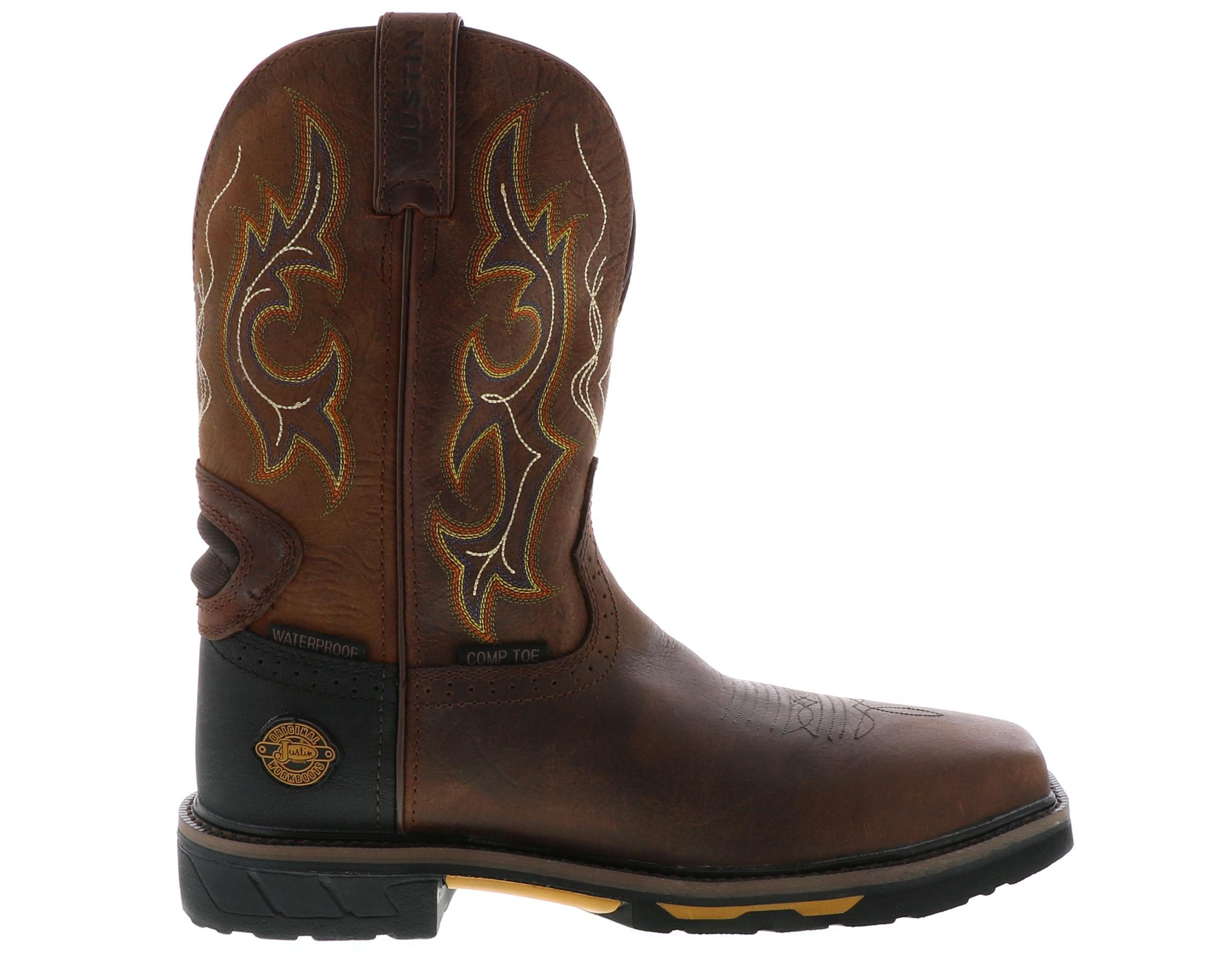 Men's Justin Boots Joist Comp Toe
