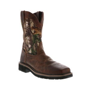 Justin Boots Rugged Men's Safety Toe Boot