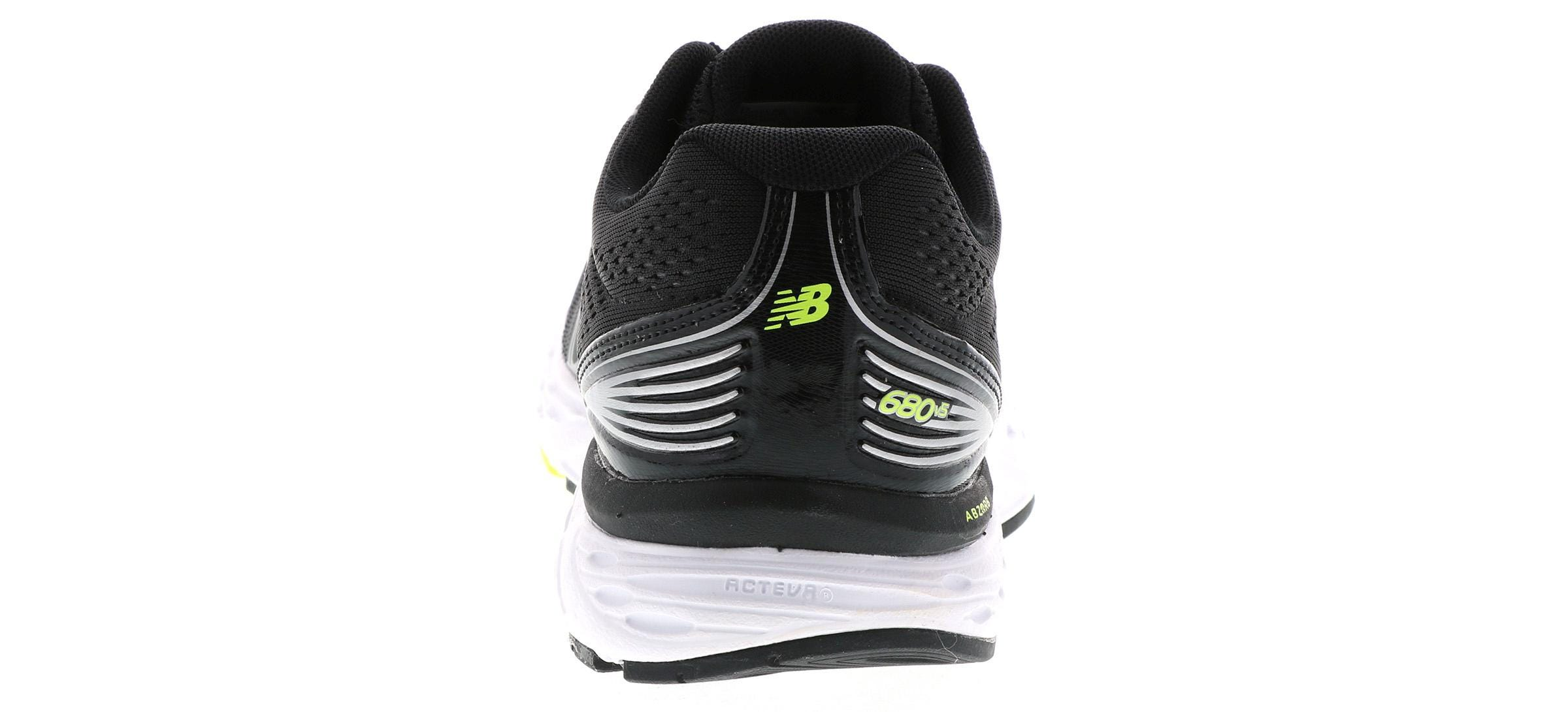 Men's New Balance 680 Tech Ride Black | Shoe Sensation