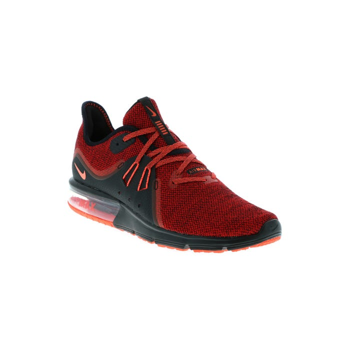 detailed images shoes for cheap best value Men's Nike Air Max Sequent 3 Red 921694 066   Shoe Sensation