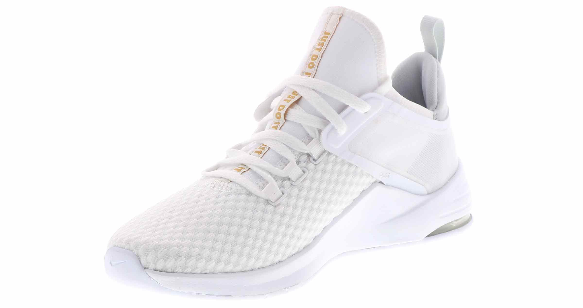Schuhe NIKE Air Max Bella Tr 2 AQ7492 101 WhiteMetallic Gold