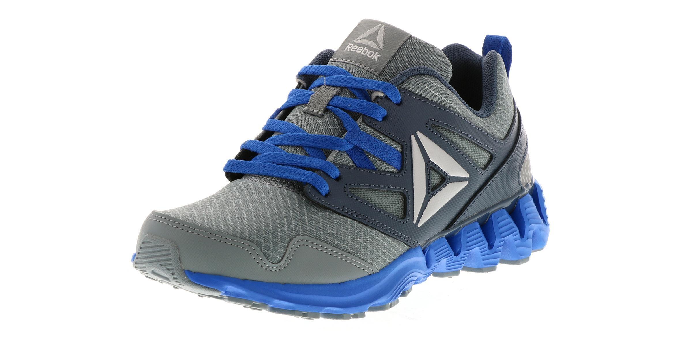 df17e081bb Kid's Reebok Zigkick 2K17 (4-7) Grey   Shoe Sensation