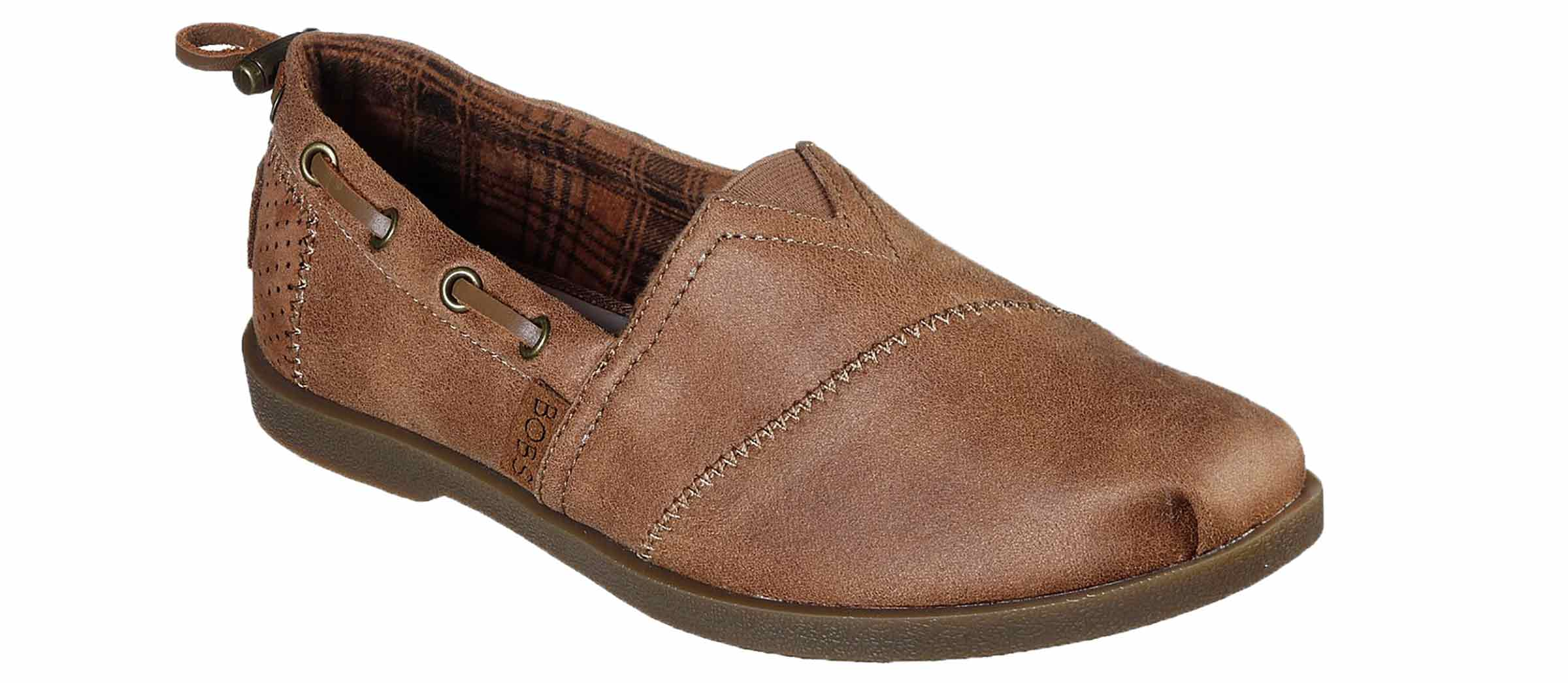 Women's Bob's Chill Luxe Buttoned Up Tan Skosensation  Shoe Sensation