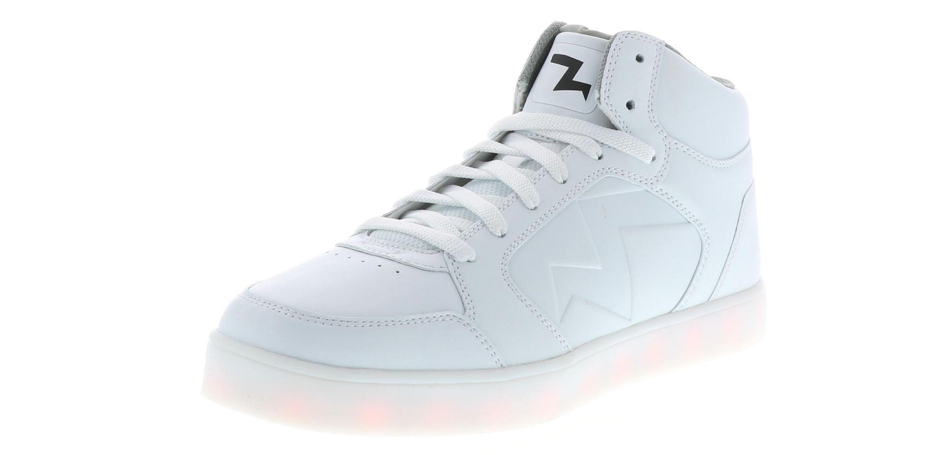Men's Skechers Energy Lights Parkey White | Shoe Sensation