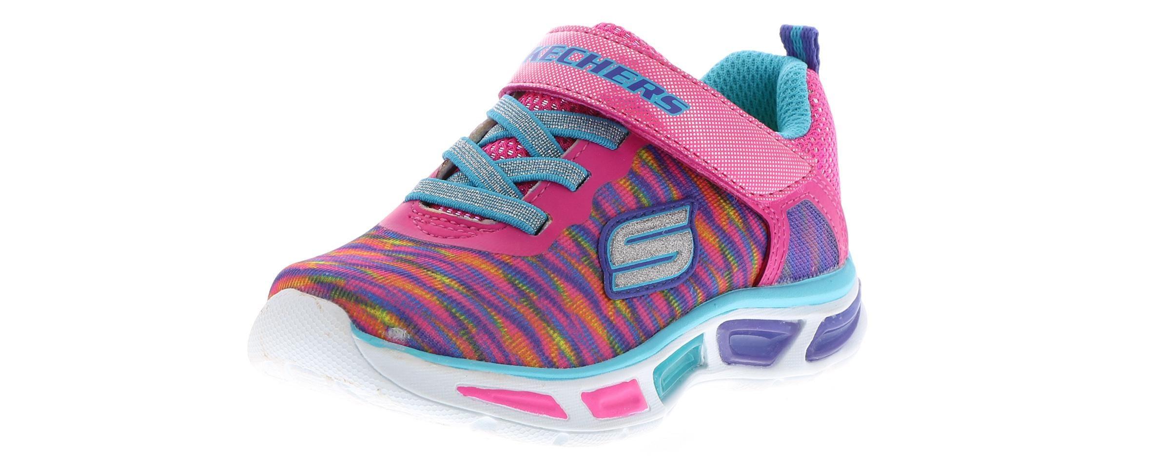 Kid's Skechers Lightbeams Colorburst (5 10) Multi Sko  Shoe