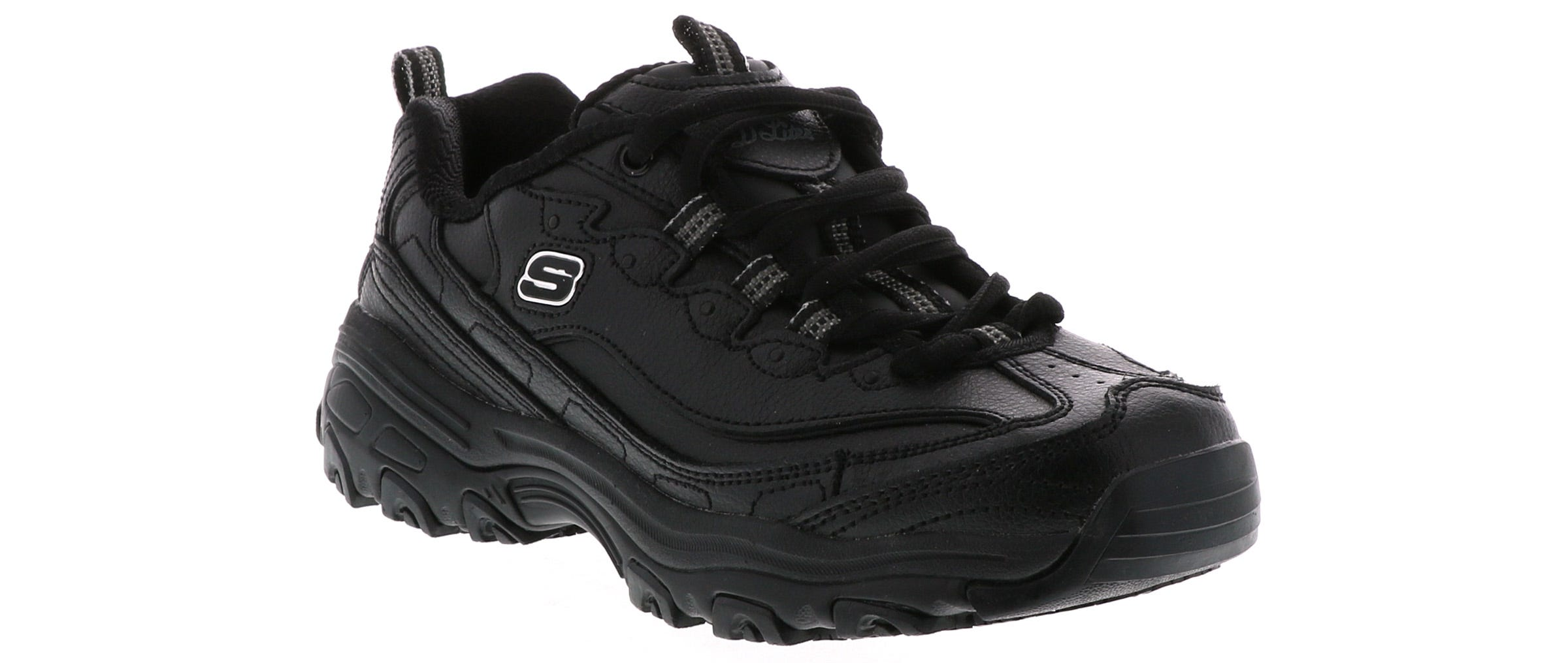 Women's Skechers D'lites Marbleton 76605 BLK Black Sko  Shoe