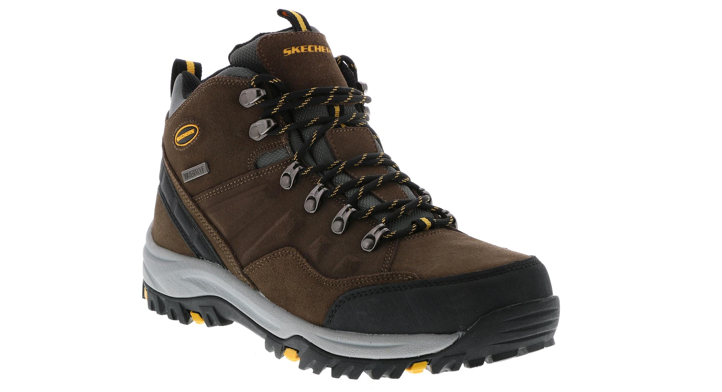 22a832a1ae4 Skechers Men's Relment-Pelmo Brown