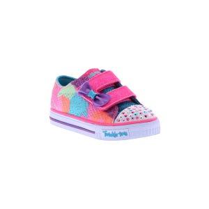 Skechers Kid's Shuffles Tie Dye (5-10) Pink