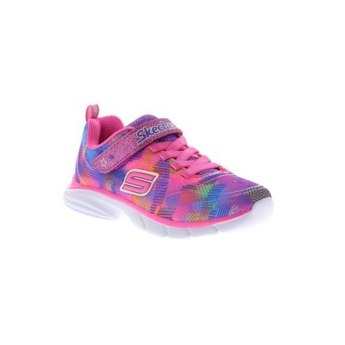 Skechers Kid's Spirit Sprintz Rainbow Raz (11-5) Pink