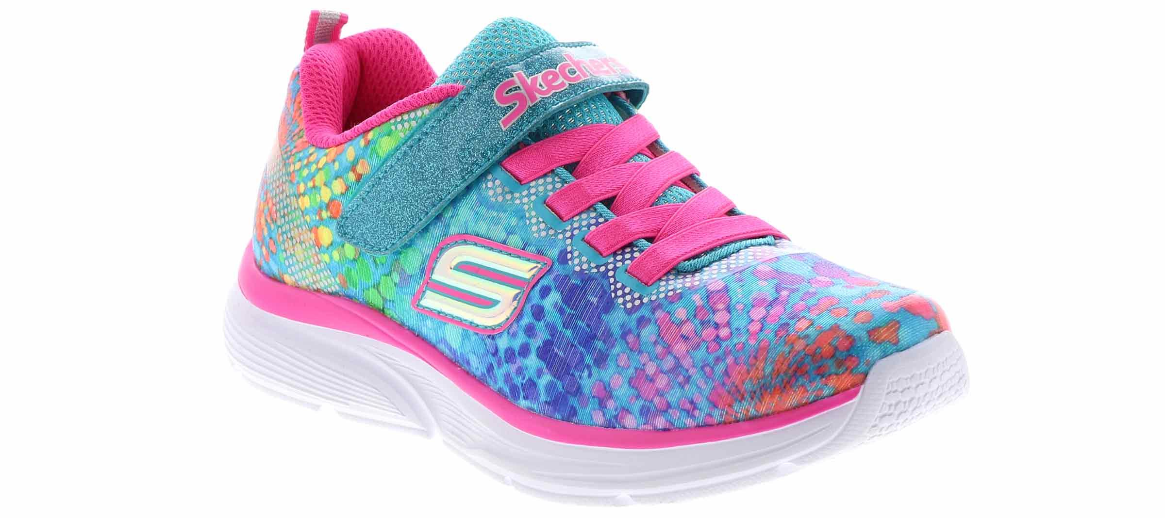 Kid's PUMA SMASH V2 CONFETTI V INF Black Shoe Sensation  Shoe Sensation