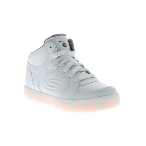 Skechers Kid's Energy Lights (13-7) White