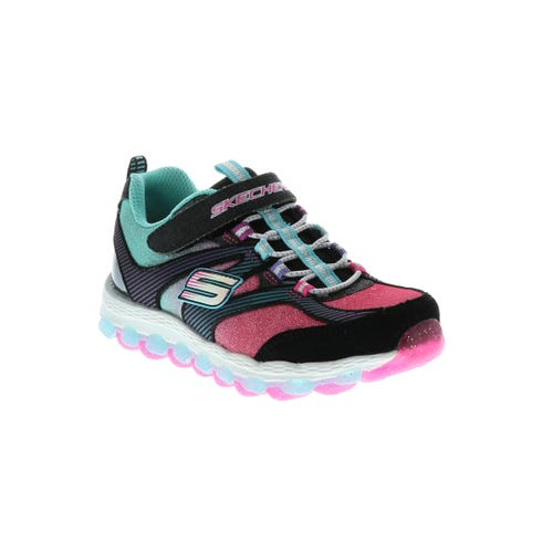 Skechers Girl's Skech Air Glam It Up (11-4) Black