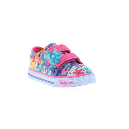 Skechers Girl's Toddler Twinkle Toes Flower (5-10) Pink