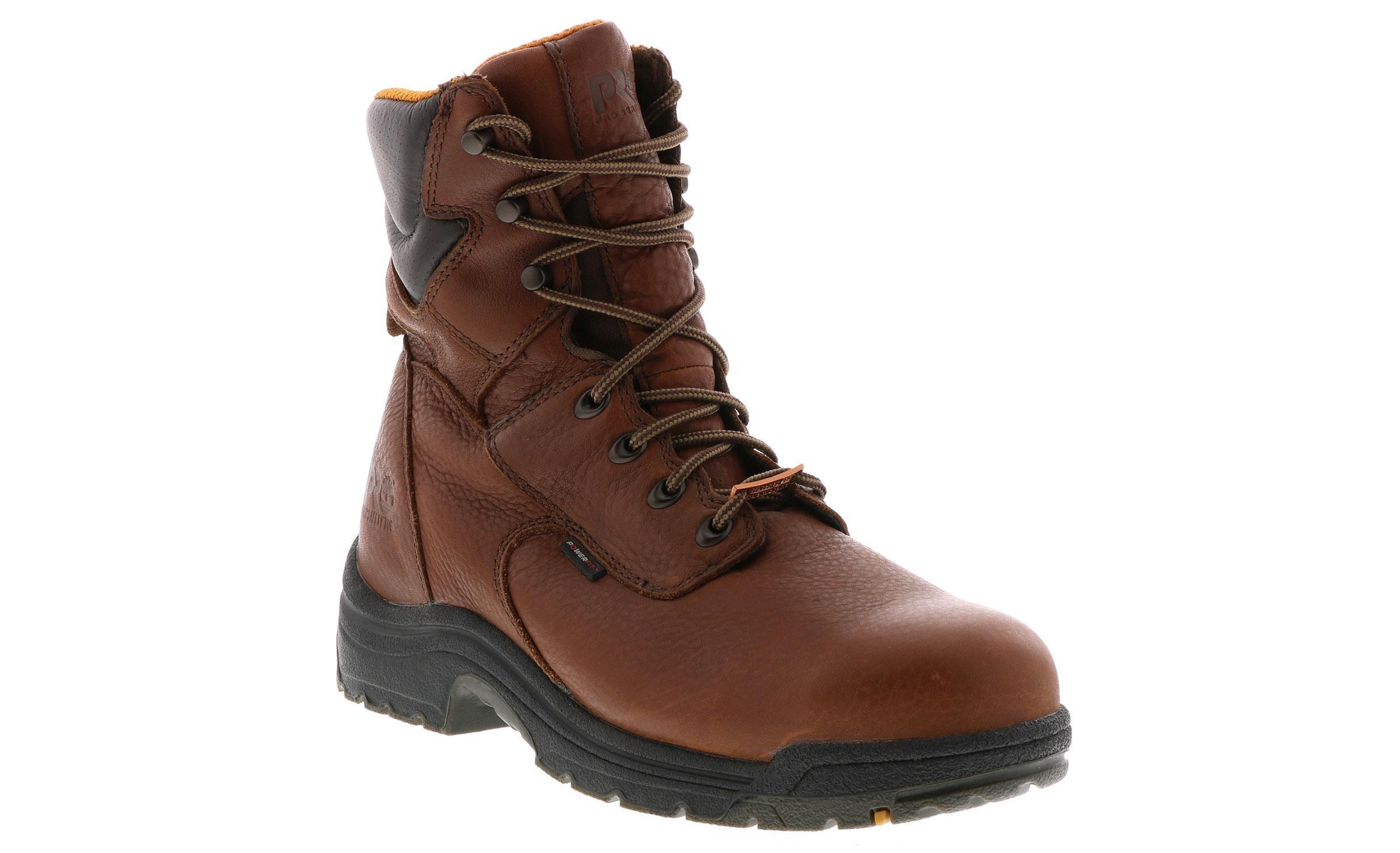 Timberland Men's PRO 8 inch Steel Toe Titan Waterproof Boot