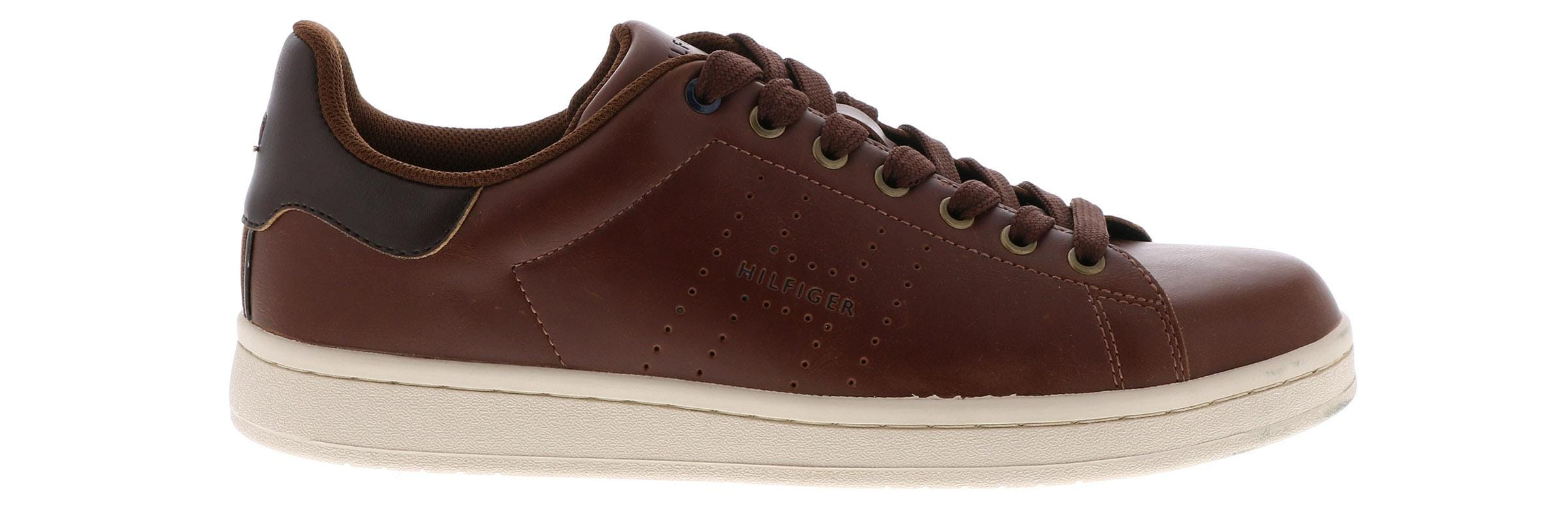 7a3aa02386332b Tommy Hilfiger Mens Liston Cognac 9 Medium US for sale online