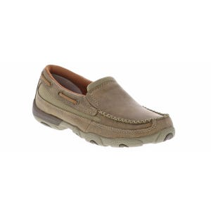 Twisted X Women's Driving Moccasin Natural