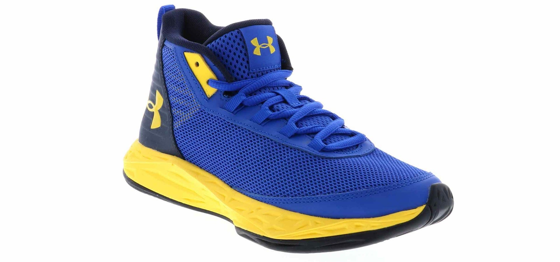 blue under armor shoes