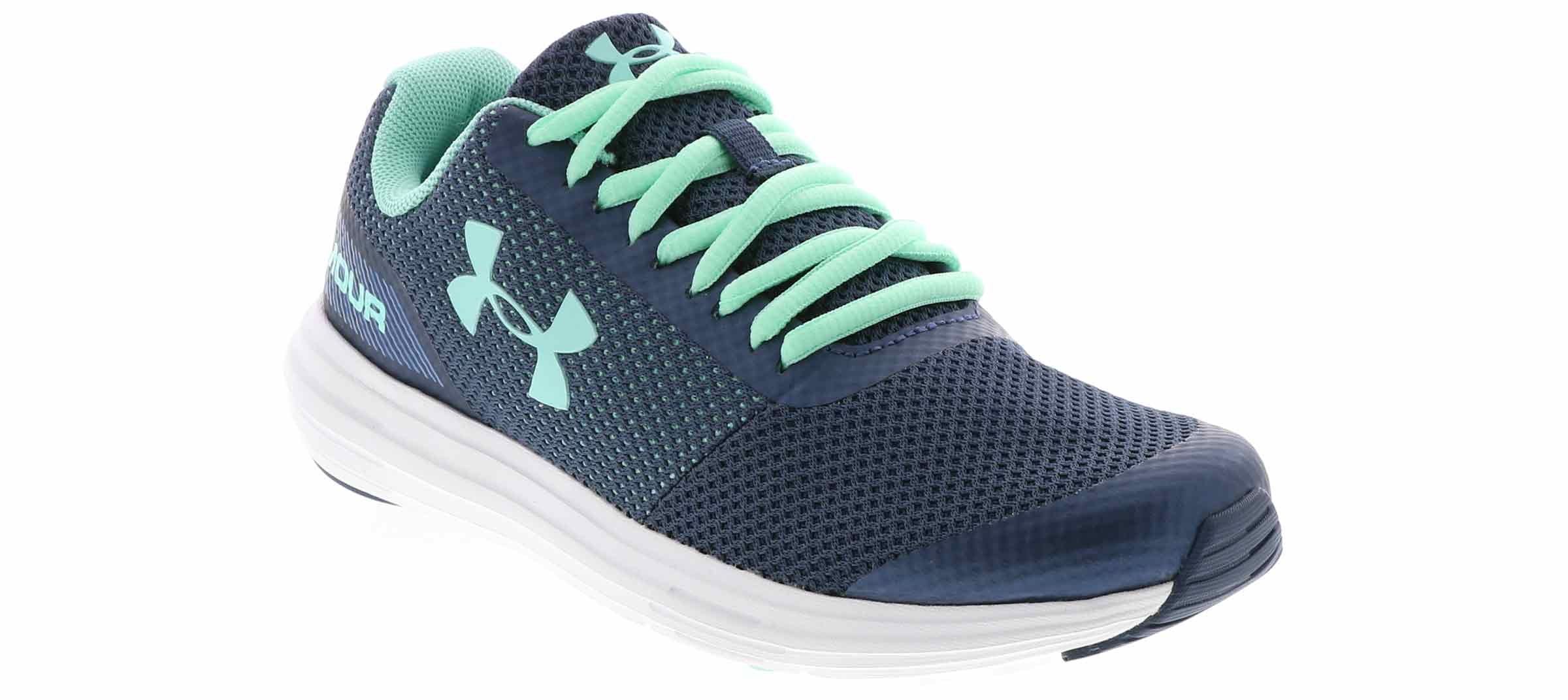 Under Armour GPS Unlimited Pink+Blue Kids Sneakers Shoes 3020474-600 Girls NEW