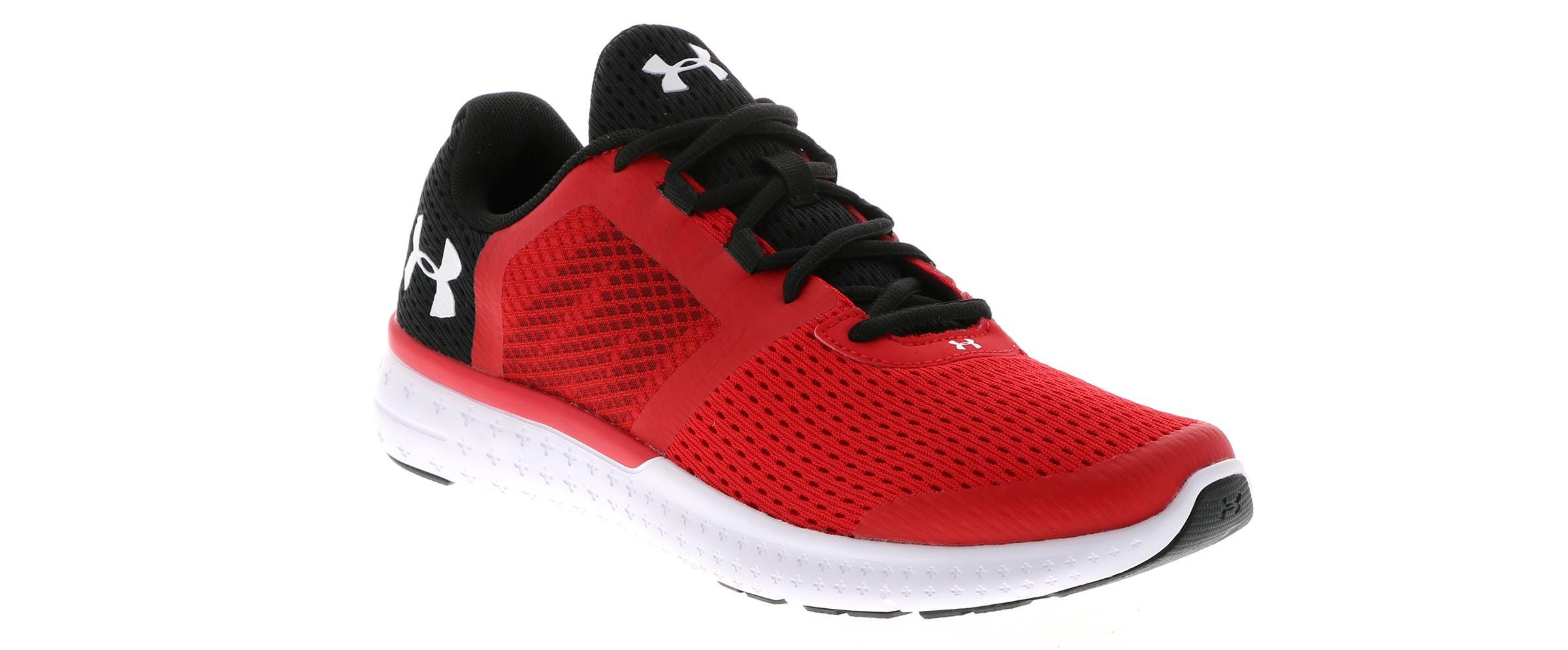 purchase cheap 06c0f 002dc Kid's Under Armour Micro G Fuel (4-7) Red | Shoe Sensation