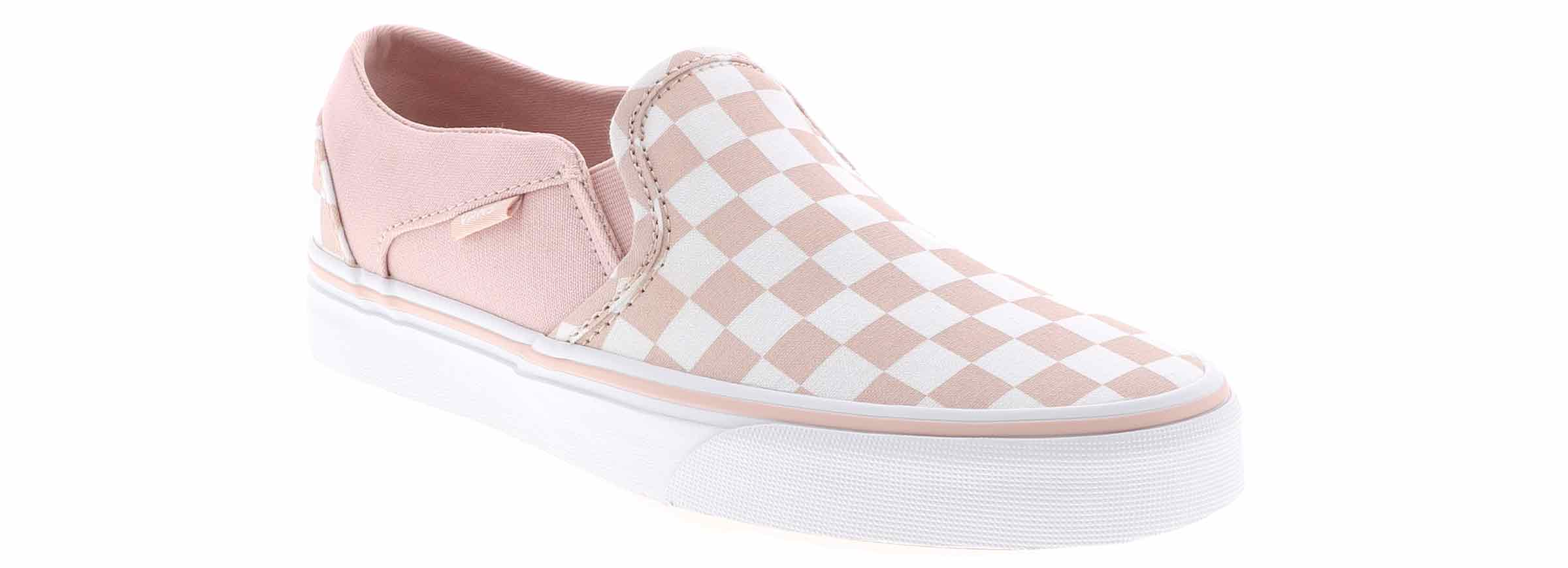 Women's Vans Asher Blush Shoe Sensation  Shoe Sensation