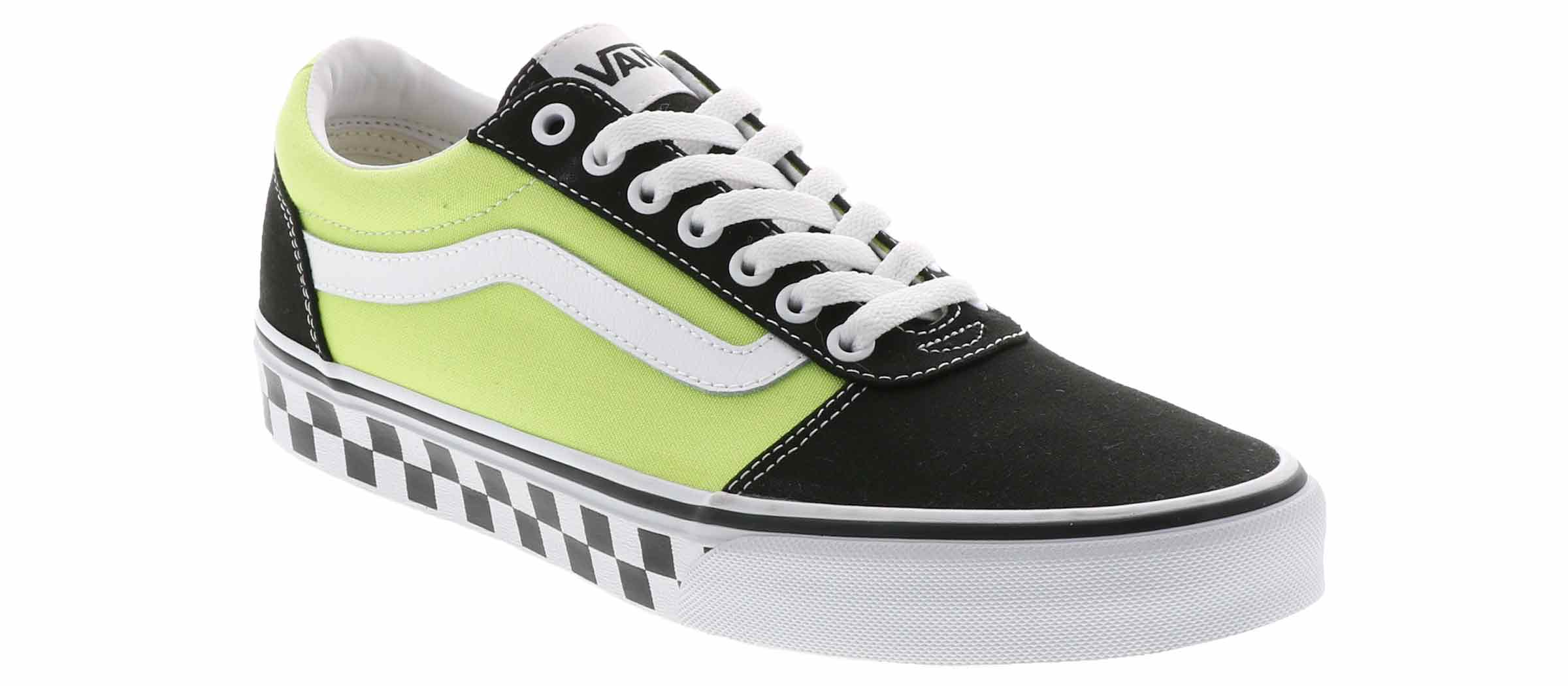 lime green high top vans