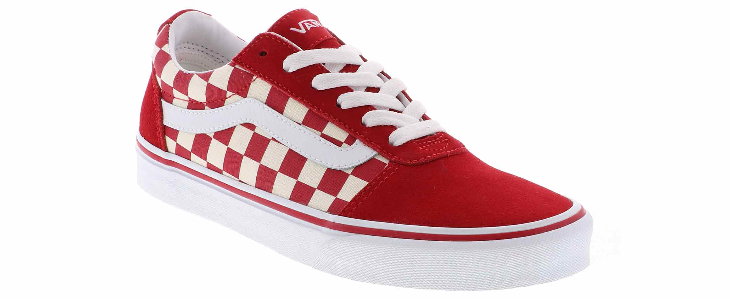 clear and distinctive wholesale online sneakers Women's Vans Ward Checkerboard