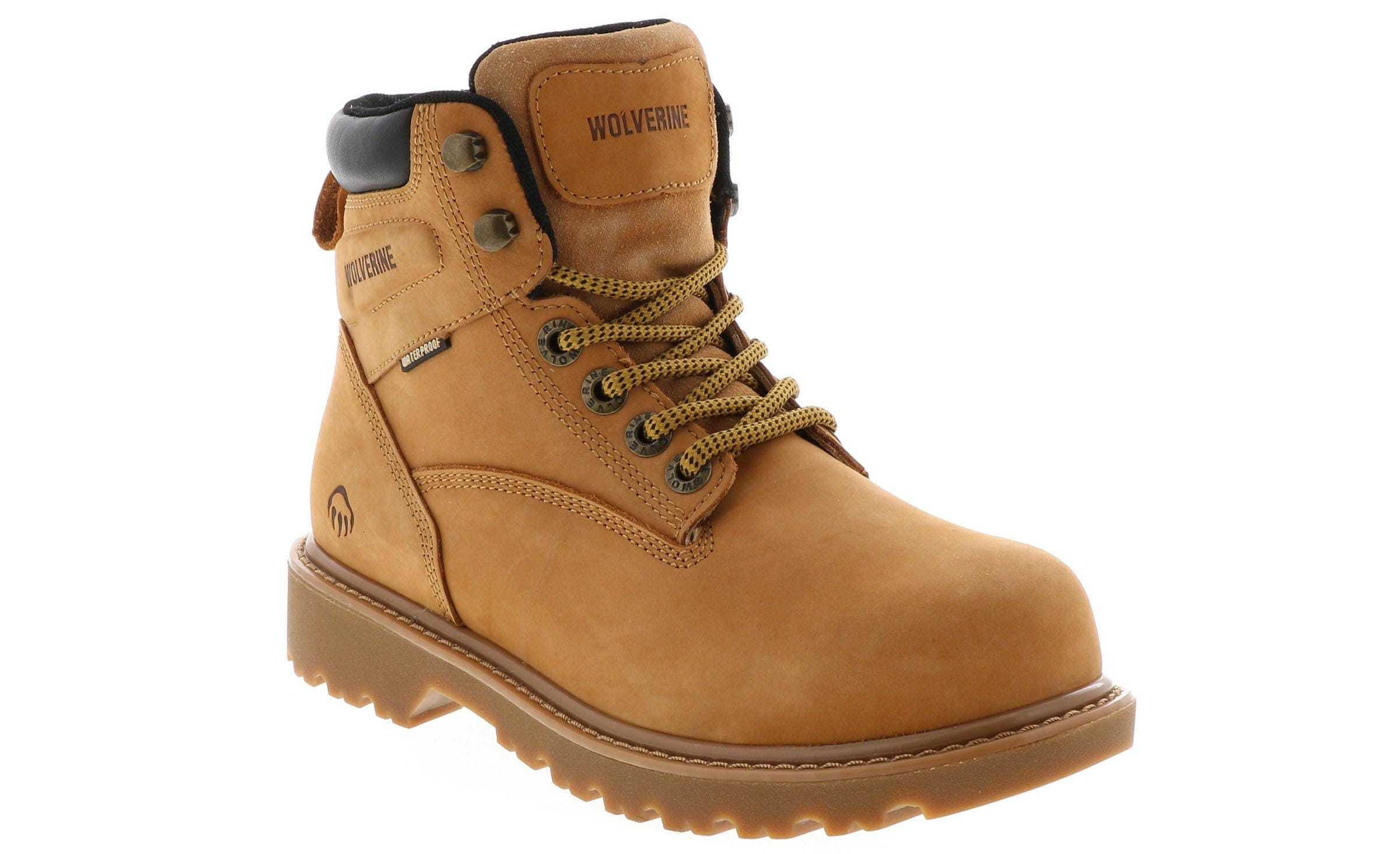 4ae29c51e7c Men's Wolverine Floorhand Steel Toe Black | Shoe Sensation