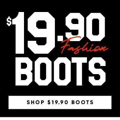 Shop Boots under $20