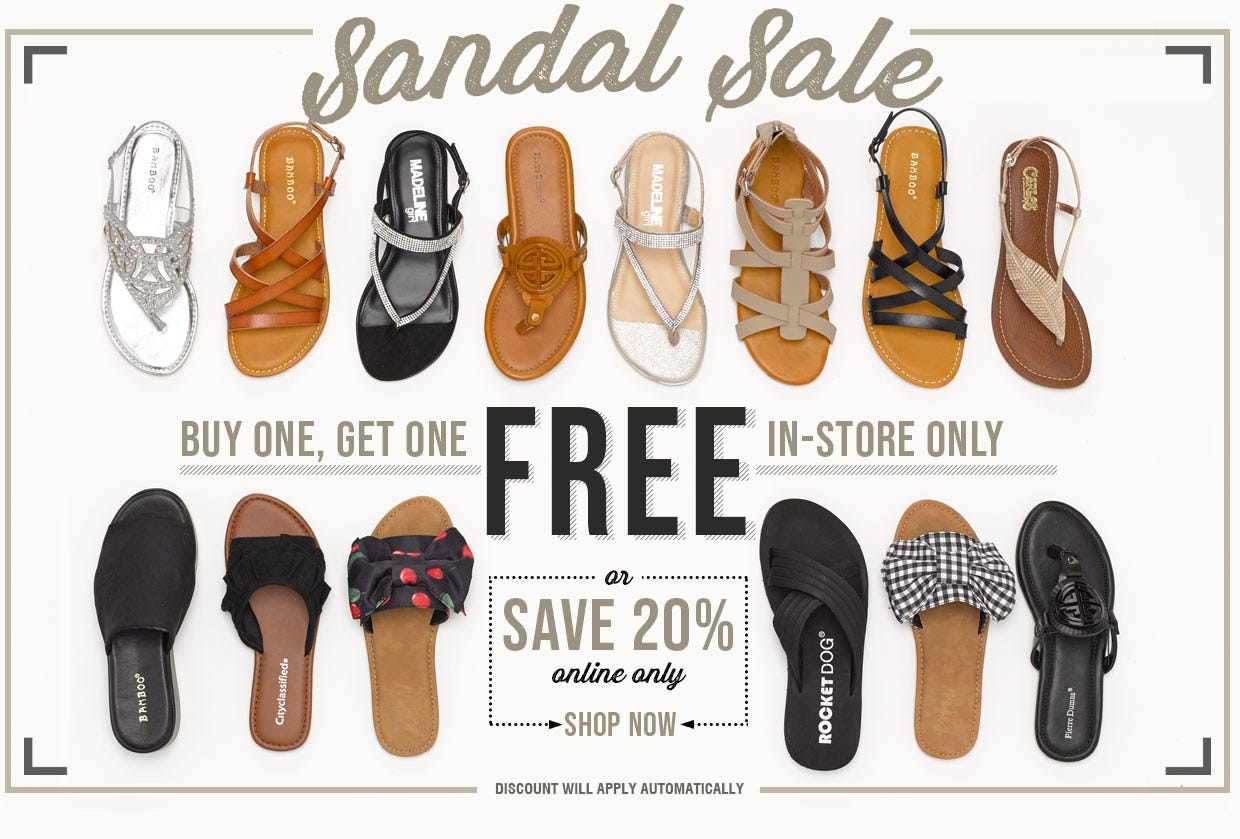 Buy One Get One Free in-store only